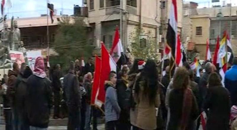 أهالي الجولان المحتل: لا بديل عن سورية وطناً لنا