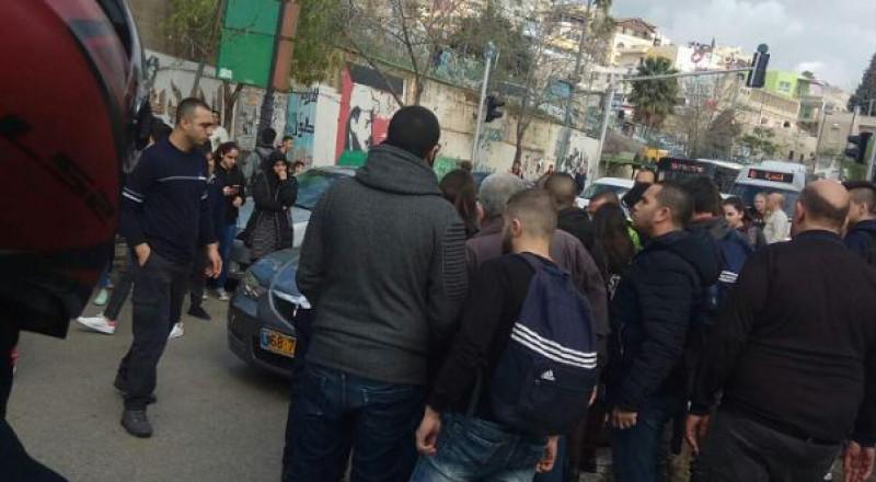 الناصرة: دهس طفل على الشارع الرئيسي قرب العين