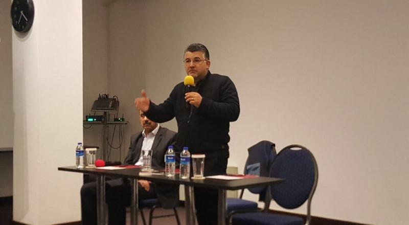 الجالية الفلسطينية في رومانيا تستضيف النائب جبارين وتحيي اليوم العالمي للجماهير العربية