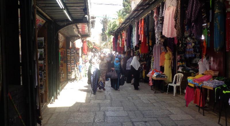 تجار سوق باب السلسلة يشتكون من الركود التجاري وضعف الحركة الشرائية