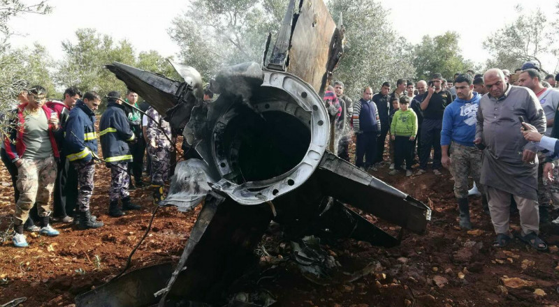 المضادات السورية لاحقت وكادت تصيب طائرة إسرائيلية ثانية صباح السبت