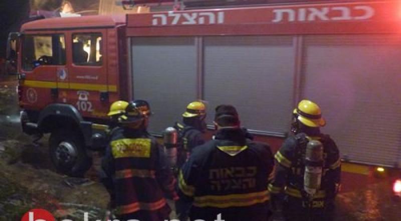 شفاعمرو :اندلاع حريق في بناية سكنية دون وقوع إصابات