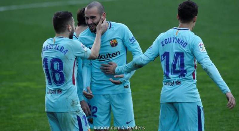 برشلونة يهزم إيبار