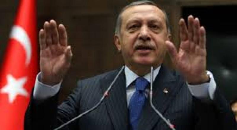 أردوغان يُعلن سقوط مروحية تركية خلال