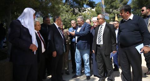 جامعة القدس ومستشفى الجليل في الناصرة تبحثان سبل التعاون الأكاديمي