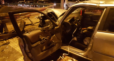3 اصابات في حادث طرق قرب طمرة