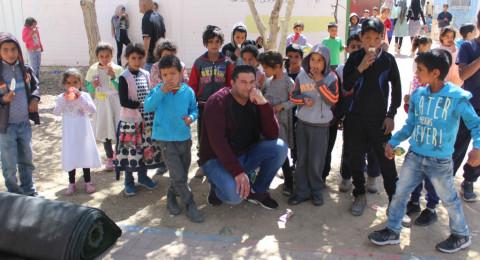 يوم الأعمال الخيرية في مدرسة عين عبدات – النقب