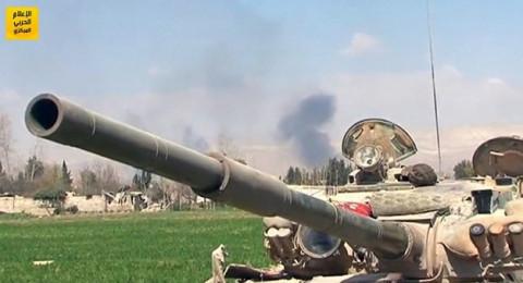 الجيش السوري يصل إلى مشارف بلدة حمورية في الغوطة