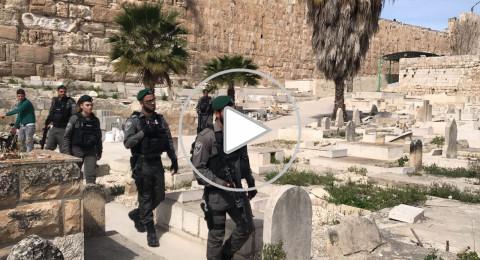 القدس : افراد من