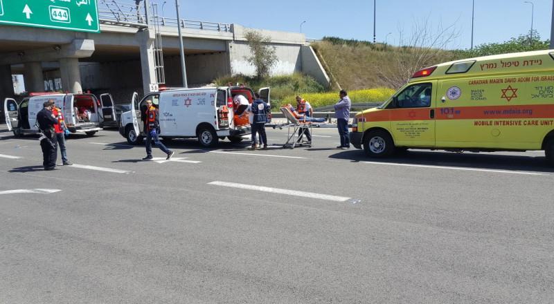 جلجولية: اصابة بالغة لراكب دراجة بعد تعرضه للدهس