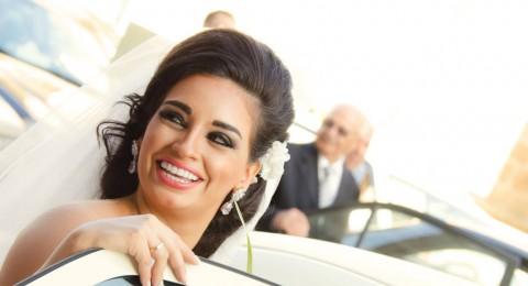 زينة أفتيموس نجمة ستار أكاديمي تحتفل بزفافها