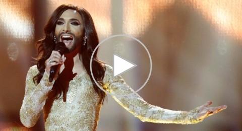 فوز المتحولة جنسياً كونشيتا رست بمسابقة الأغنية الأوروبية
