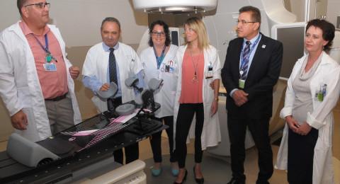 المركز الطبي زيف يعقد مؤتمر صحفي عشية افتتاح معهد الاشعة لعلاج مرضى السرطان
