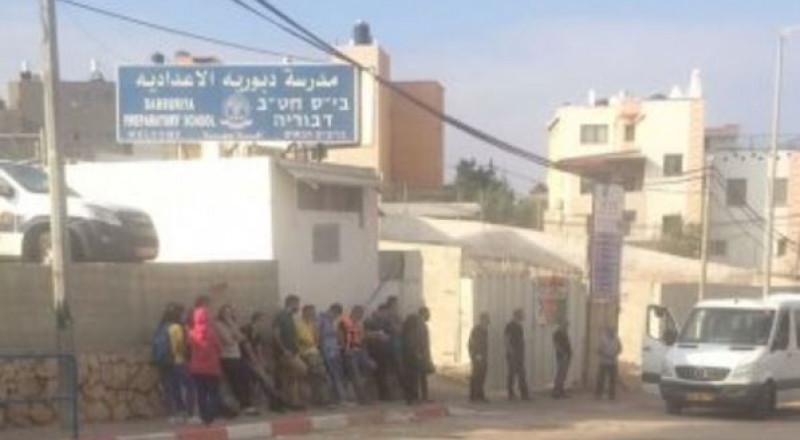 دبورية: أولياء امور طلاب المدرسة الاعدادية يعلنون اضراب مفتوح