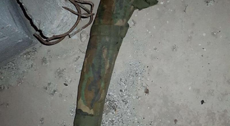 طوبا الزنغرية : ضبط سلاح مخبأ داخل ورشة بناء