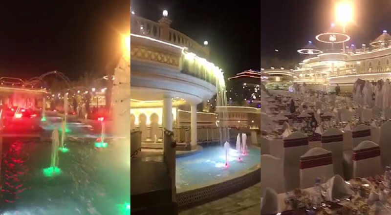 قصر يفوق الخيال وقمة بالتبذير لرجل اعمال سعودي