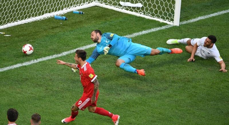 روسيا تحقق باكورة انتصاراتها في كأس القارات 2017