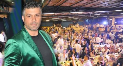 فارس كرم يلهب حماس الحضور بعيد الفطر