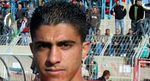 الفحماوي احمد حربي ضمن بعثة المنتخب الفلسطيني الى الاردن
