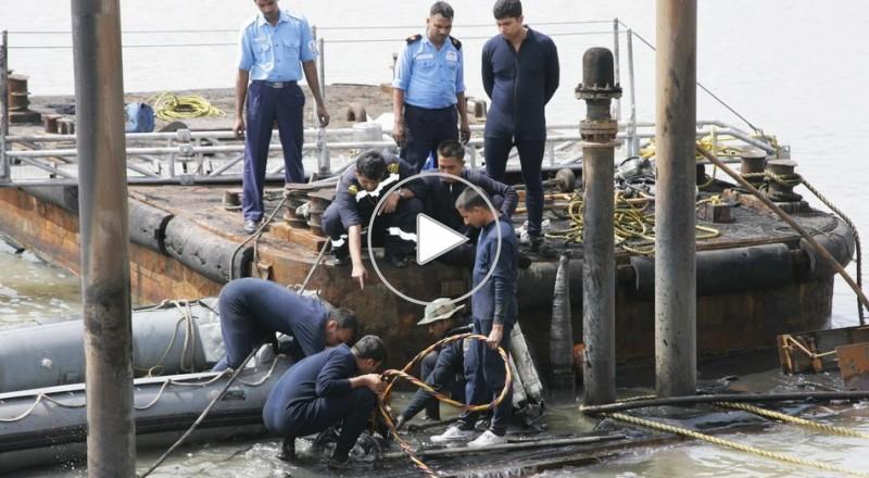 غرق الغواصة في الهند
