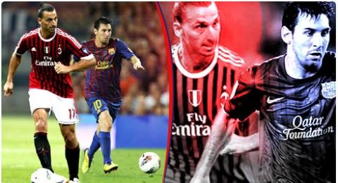 اليوم وغدا ضمن دوري الابطال :برشلونة وميلان في موقعة أوروبية ثقيلة