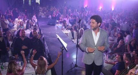 معين ونادر وناصيف يقدموا حفلاً ناجحاً في الموفنبيك
