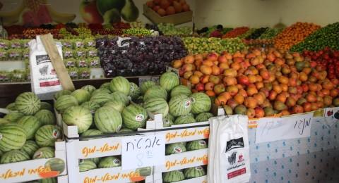 كفر قرع: حركة تجارية وازمة سير خانقة عشيّة العيد