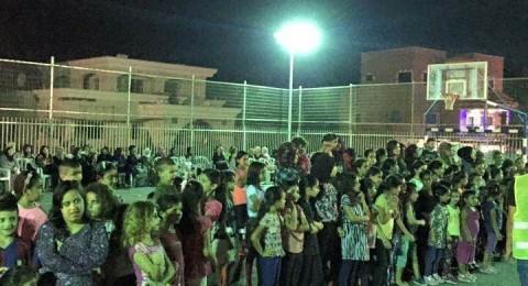 قرى بسمة: مشاركة واسعة باحتفال بمناسبة العيد
