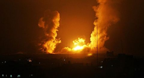 6 شهداء في استهداف إسرائيلي شرق خانيونس