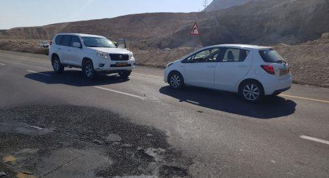 الانتهاء من التحقيق بقضية حادث الطرق الذي وقع بمنطة البحر الميت