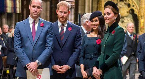 حفل عشاء ملكي يجمع الثنائيين الملكيين في لندن