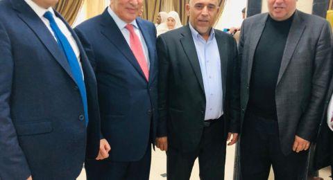 النائب طلب ابو عرار يلتقي رئيس مجلس النواب الاردني وعددا من النواب