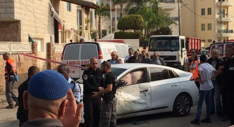 كفر قاسم: اصابة متوسطة لشاب بعد تعرضه لاطلاق رصاص وإلقاء قنبلة