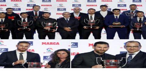 توزيع جوائز الدوري الإسباني