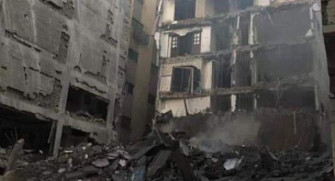 فجراّ.. قصف مبنى سكني وسط غزة وموقعا للشرطة البحرية ورقض الوساطة المصرية للتهدئة