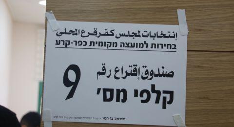 كفر قرع: 12,981 ناخبًا يدلون اليوم بأصواتهم لاختيار رئيس المجلس