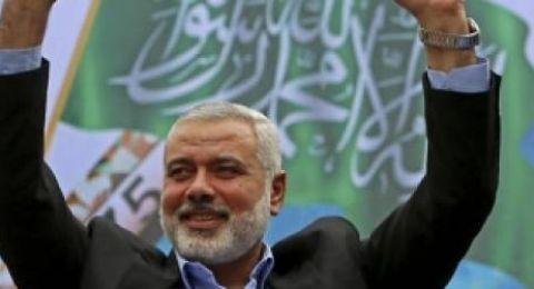 هنية : حقننا انتصارا عسكريا على اسرائيل في أقل من اسبوع