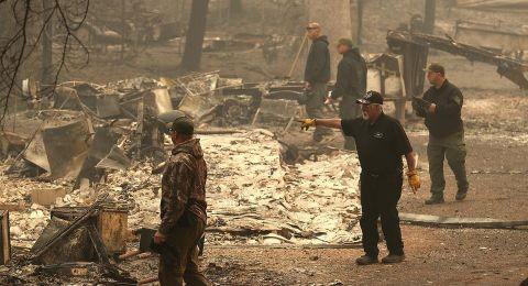 الحرائق الأكثر كارثية في كاليفورنيا.. 23 قتيلاً وتدمير أكثر من 6700 منزل