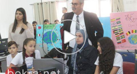 سخنين: طلاب اعدادية الحلان في رحلة حول العالم عبر