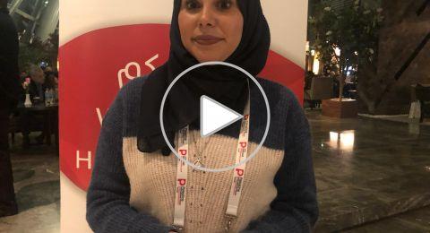 الصحافيّة  عاروري: مهمّ على كلّ صحافي فلسطيني المشاركة في