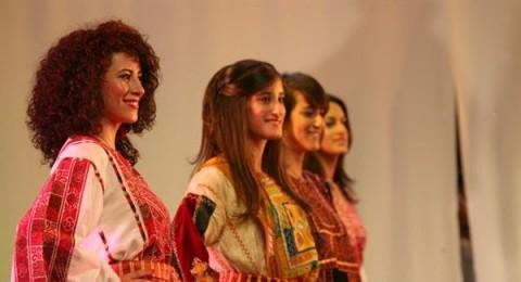 عرض أزياء تراثية في رام الله