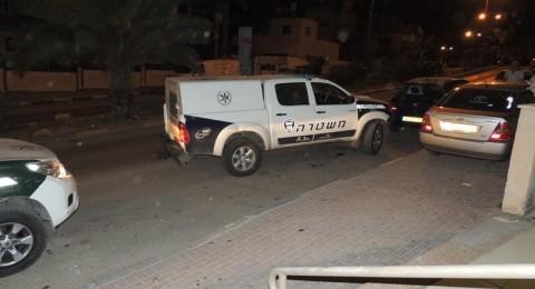بعد اصابة شرطي بحادث طرق: اعتقال سائق من كفرقاسم