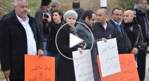 متظاهرون قرب مفترق عيلوط: حياتنا ليست رخيصة!