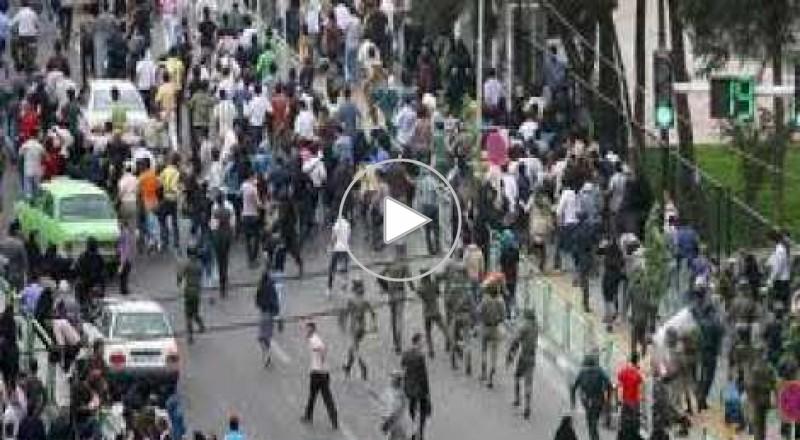 مصادمات واعتقالات في مظاهرات الربيع الإيراني
