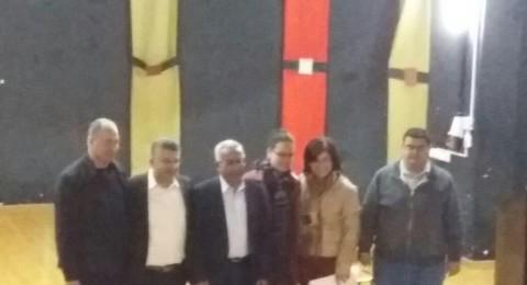 شفاعمرو تستضيف النائب يوسف جبارين بلقاء مع الطلاب الثانويين