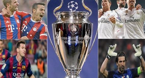 نهائيان مبكران في أوروبا .. ريال مدريد ضد بايرن وبرشلونة ضد اليوفي