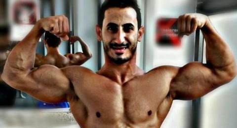 لاجئ من اليرموك يتأهل لبطول كمال الأجسام بألمانيا