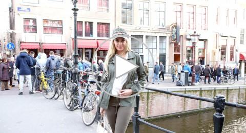 دومينيك حوراني تكشف خفايا شوارع الرايات الحمراء في أمستردام (فيديو)
