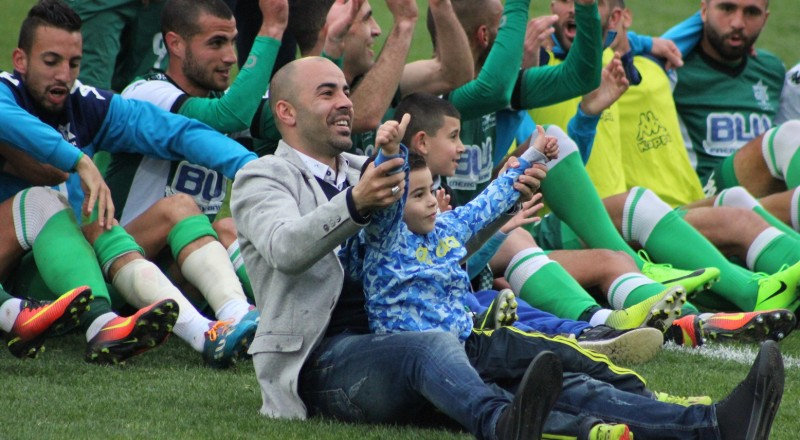 الاخاء النصراوي يفوز على العفولة ويضمن مكانا في البلي اوف العلوي