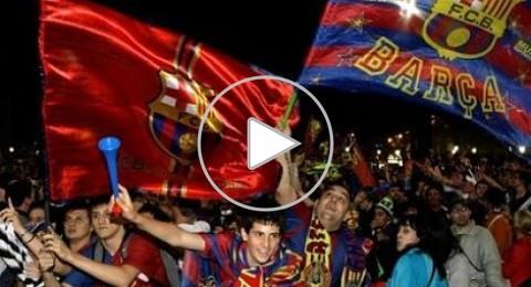 اسبانيول يتعادل مع الريال ويتوج برشلونة بطلاً للدوري الاسباني